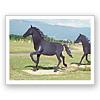 馬(耐候性鋼製)のモニュメント