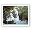 ヨハンシュトラウス像(モニュメント)/ウイーンの森 オーストリア