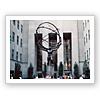 サンダイヤルを捧げ持つ女神/ロックフラーセンター ニューヨーク